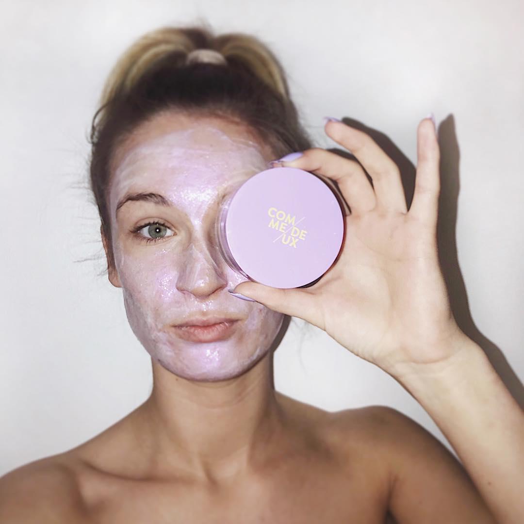 Reklame/ Se lige den fineste ansigtsmaske #discoskin fra @commedeux. Udover at den er rigtige flot at se på, så efterlader den også din hud mega lækker ?? Kan varmt anbefales! I kan lige nu få 20% ved @commedeux med rabatkoden LineJoh20 ?? #commedeux #commedeuxclub #com1dk19